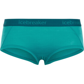 Icebreaker Sprite Hot Pants Women Arctic Teal/Kingfisher